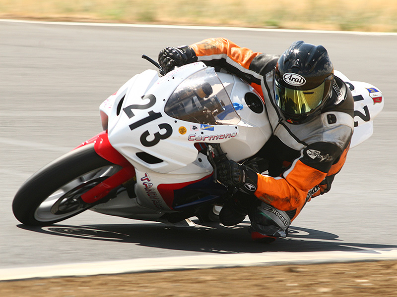 Rick is also an instructor on the track and a motorcycle safetly coach as well.